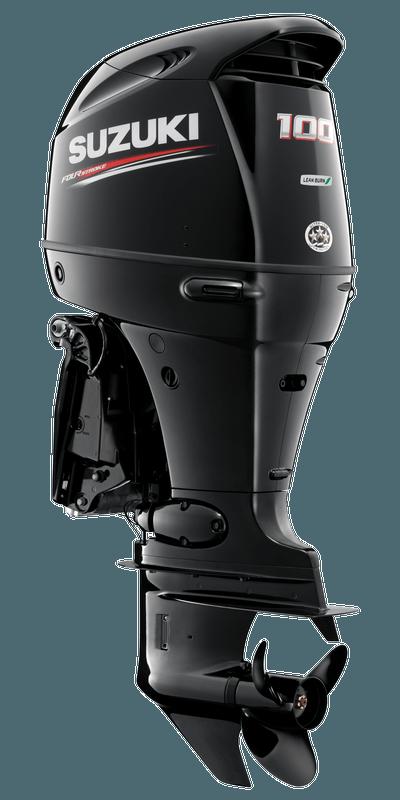 Suzuki DF100AT Black
