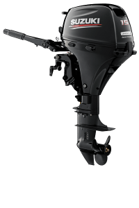 Suzuki DF15AL Black