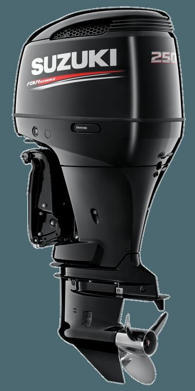 Suzuki DF250 Black