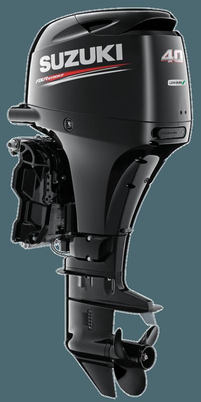 Suzuki DF40A Black