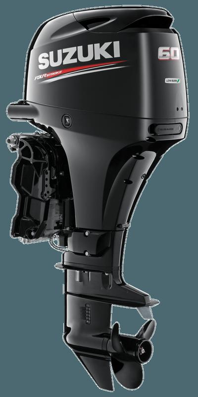 Suzuki DF60A Black