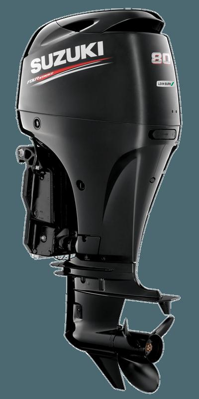 Suzuki DF80A Black