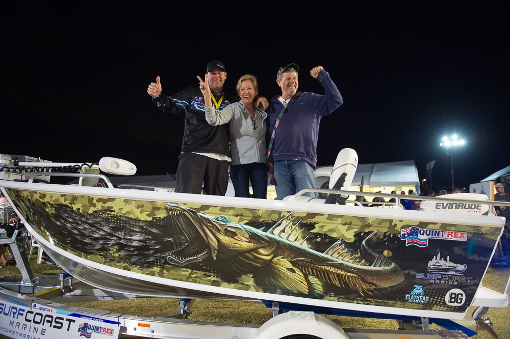 Surf coast Marine Gold Coast Flathead Classic Major Event Partner