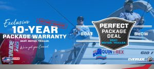 Quintrex 10 Year Warranty Boat Show Deal