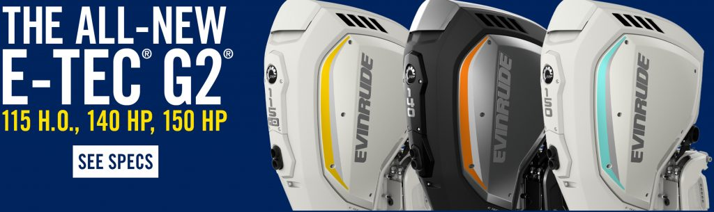 New Evinrude G2 Range of outboards